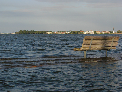 Clear Lake, Waiting for Hurricane Ike