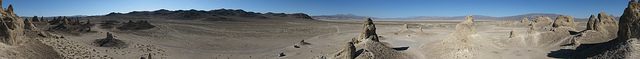 360 Degree Panorama from Top of Trona Pinnacles