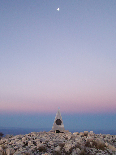 Summit Marker, Shades of Indigo